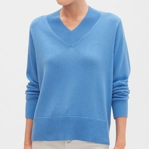 Banana Republic Chuncky Stitch V-Neck Sweater
